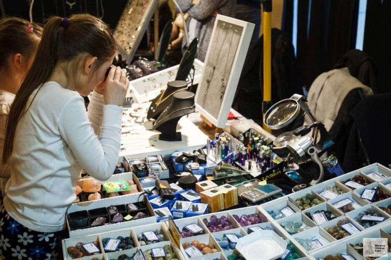 Giełda Minerałów i Biżuterii Warsaw Mineral Expo
